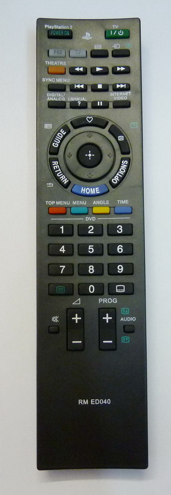 RMED031Fernseher Ersatz Fernbedienung passend für Sony TVRM-ED031